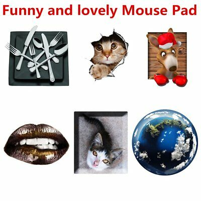 Super Thin Skid Resistance Mouse Pad Anti-slip Creative Mouse Pad Mouse Mat RS