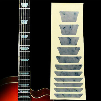 Electric Acoustic Guitar Bass Stickers Inlay Sticker Fretboard Marker Fret Decal