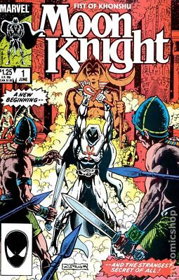 Moon Knight (2nd Series) Fist of Khonshu #1 1985 FN Stock Image