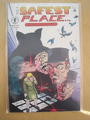 THE SAFEST PLACE IN THE WORLD, ONE SHOT by the great STEVE DITKO.DARK HORSE,1993