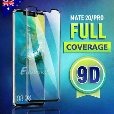 For Huawei Mate 20 Pro Screen Protector Tempered Glass Thin 6D Full Protection