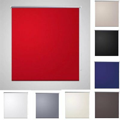 Blackout Roller Blind Made To Measure Thermal Window Blinds 8 Colors Multi-sizes