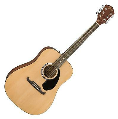 Easy to play Fender Dreadnought Westerngitarre - Perfekt für singer-songwirter