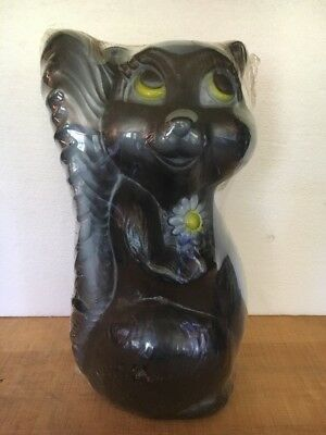 Vintage Blow Mold Skunk Plastic Lawn Decoration Union Products N O S