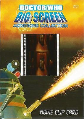 Dr Doctor Who Big Screen Additions Movie Clip Film Card /BB Thal,Daleks & Ian