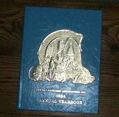 1984 The Cat Fanciers Association Annual Yearbook CFA - hardcover