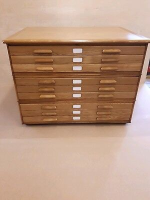 Abbess Plan Architects 9 Drawer Chest