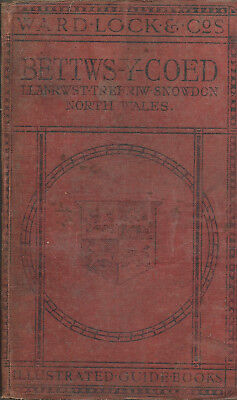 WARD LOCK RED GUIDE - BETTWS-Y-COED & NORTH WALES (NORTHERN) - 1919/20 - 8th ed.