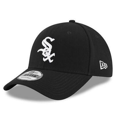 New Era 9Forty Baseball Cap.the League Chicago White Sox Black Adjustable Hat 15