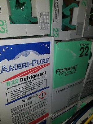 R22 Refrigerant NEW sealed freon LOCAL PICKUP ONLY 30 lb tank Chicago & suburbs