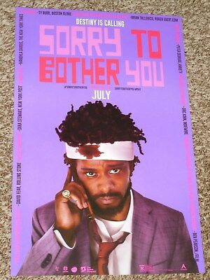 Sorry to Bother You 11x17 Promo Movie POSTER