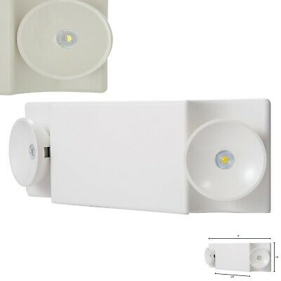 Sure-Lites SEL25 SEL Safety White LED Plastic Emergency Light w/ NiCad Battery