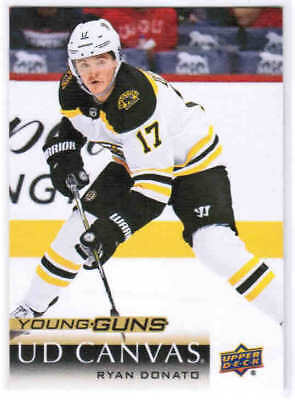 18/19 UD SERIES 1 HOCKEY YOUNG GUNS RC CANVAS CARDS (C91-C120) U-Pick From List