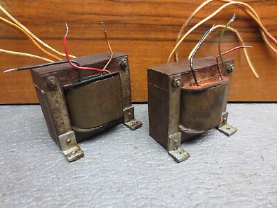 2x Ausgangsübertrager Output transformer SE tube amp EL11 Philips