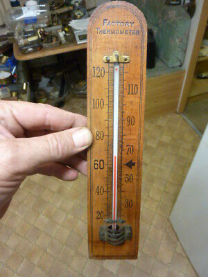 """Good Old """"factory Thermometer""""--Working Well"""