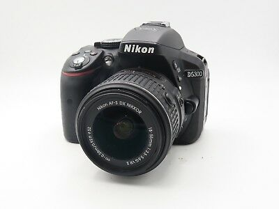 Nikon D5300 Digital SLR Camera w/18-55mm lens (U6328)