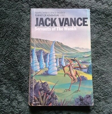 Servants of the Wankh by Jack Vance (1975 paperback)