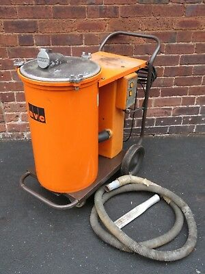 BVC BE7 POD 240v 700w Industrial Wet Dry 2 Motor Swarf Workshop Vacuum