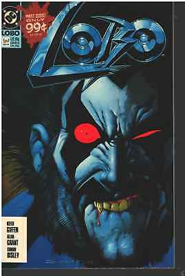 LOBO COMIC # 1 (of 4) - DC 1990  BB