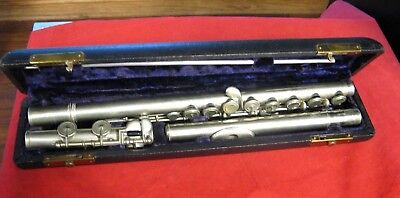 **VINTAGE** Wallace Music House Chicago 1900's Flute Model 58