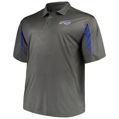 7a32acb4 BUFFALO BILLS MAJESTIC Big & Tall Safety Blitz T-Shirt - Charcoal ...