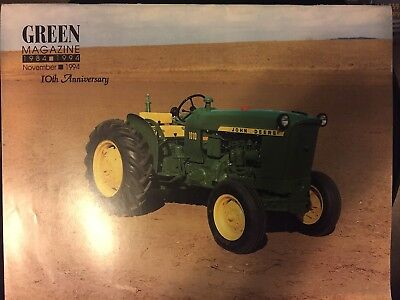 John Deere Model 1010 Tractor Green magazine