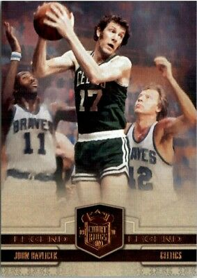 2009-10 Court Kings Bronze Celtics Basketball Card #109 John Havlicek /199