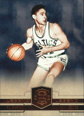 2009-10 Court Kings Bronze Boston Celtics Basketball Card #114 Bill Sharman/199