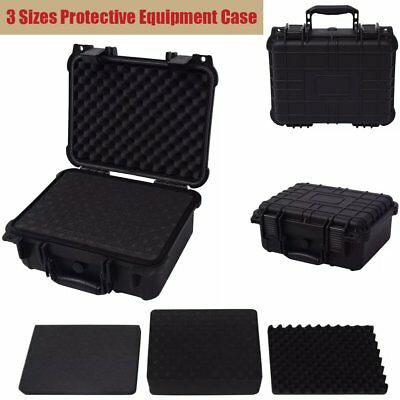 Protective Equipment Hard Carry Case Plastic Box Camera Travel Protect 3 Sizes