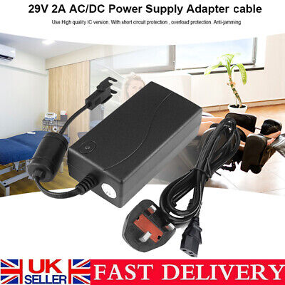 29V2A AC/DC Electric Recliner Sofa Chair Cable+Adapter Transformer Power Supply