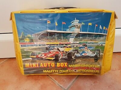 1 x Matchbox Vintage Carry Collector's Case - Sammelkoffer - Mini Auto Box