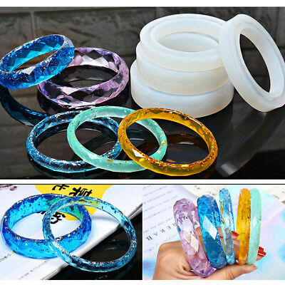 Clear Silicone Mold DIY Making Jewelry Pendant Resin Casting Mould Craft Tool CZ