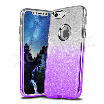 iPhone 6 6s Case Shockproof Carbon Fiber Protective Covr Soft Silicone Rubber UK