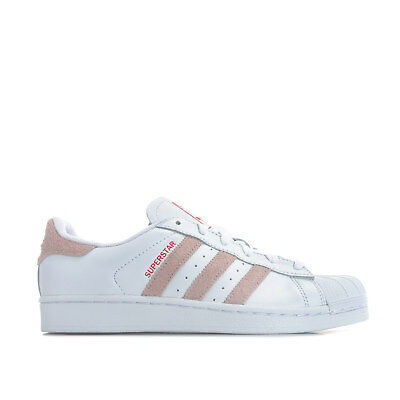 hot sale online 036d1 341f5 WOMENS ADIDAS ORIGINALS Superstar Trainers In Footwear White   Icey Pink -  EUR 60,73   PicClick FR