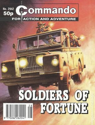 Commando for Action and Adventure (U.K.) #2942 1996 VG 4.0 Stock Image Low Grade
