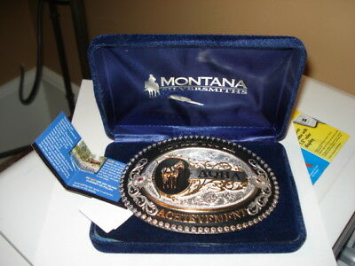 Montana Silversmiths American Quarter Horse AQHA Buckle new inBox With Tags