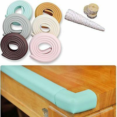 Baby Safety Edge Corner Cushion Table Desk Wall Protection Guard 2m Strip Bumper