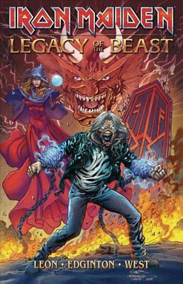 Iron Maiden Legacy of the Beast Volume 1 by Llexi Leon 9781947784079
