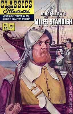 Classics Illustrated 092 The Courtship of Miles Standish #3 1964 GD/VG 3.0