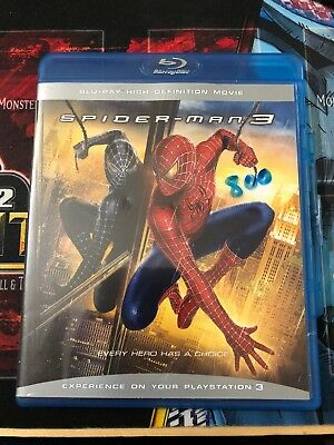 Blu-Ray : Spider-Man 3