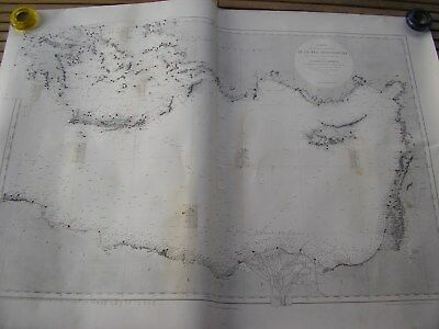 map of the basin oriental Mediterranean drawn up in 1865 impression 1952