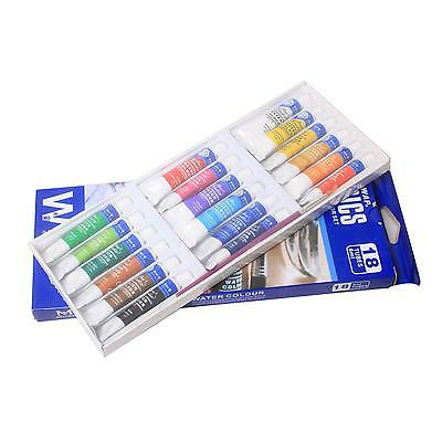 18 Color 5ml Tube Draw Painting Water Color Paints Set