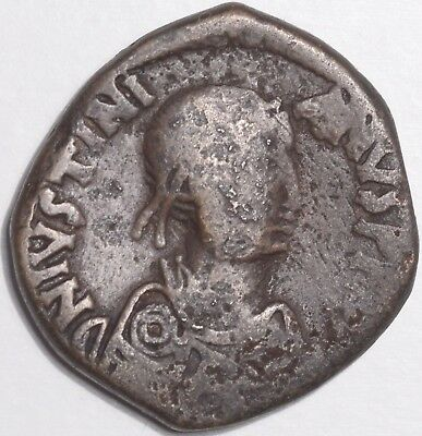 Justinian I, A.d. 527-565, Ae Follis, Constantinople Mint, Sb.161, Good Fine