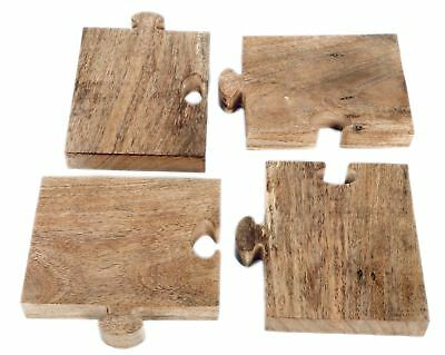 Kitchen Wooden Jigsaw Puzzle Chopping Serving Board For Bread Cheese Starters
