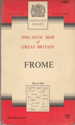 One-Inch Map of Great Britain Sheet 166 Frome :