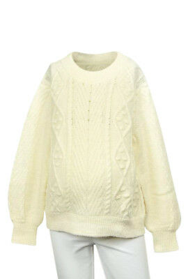 Hatch Maternity The Cable Fisherman knit ribbed sweater top NEW $268