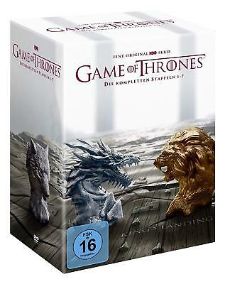 Game of Thrones - Komplette Season Staffel 1-7 [34x DVD] Limited *NEU* DEUTSCH