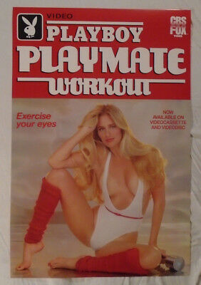 Playboy Playmate Workout Video Promo Poster 1984