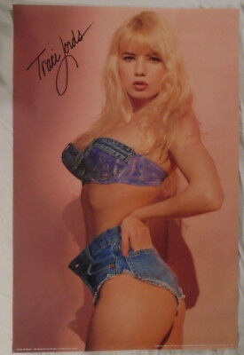 Traci Lords 1990 Poster Cutoffs National Trends Adult Film Actress Porn