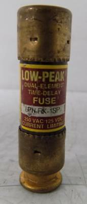 Bussmann 1A 250Vac Low-Peak Fuse Lpn-Rk-1Sp *lot Of 7*